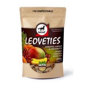 Leoveties hestegodbid med gulerod mango og hyben